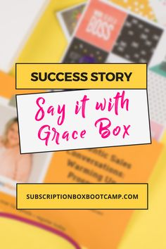 Shonda Ramsey is the Founder of Say it with Grace Box, a monthly subscription and online community for the thoughtful gift giver. Start a sub box, How to start a subscription box, Start a subscription box, Complete Business Plan, How to Make Money, Marketing strategy, Entrepreneur Inspiration, Success story, Small business Plan Execution, Business Launch Ideas, Creative marketing Ideas! #subscriptionbox #marketing #interview #business #blog #planning #successstory