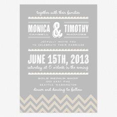 Place to Be Wedding Invitations www.lovevsdesign.com