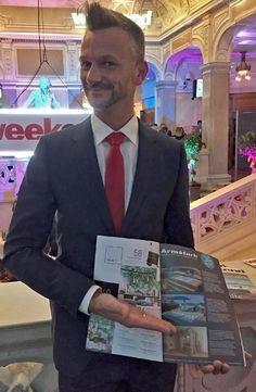 Jochen Harrer, Verkaufsberater der Armstark Welt Graz, hat an einem tollen Event vom Weekend-Magazin teilgenommen. Passend dazu konnten wir eine Anzeige in der neuen Ausgabe vom Weekend Home Steiermark platzieren 😊  @weekendmagazin Weekender, Suit Jacket, Breast, Lifestyle, Graz, World, Jacket, Suit Jackets