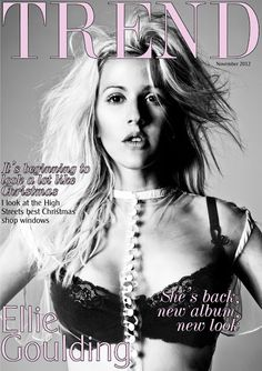 November 2012 this month: I talk about Ellie Goulding and her new album 'Halcyon', I look at the High Streets best Christmas shop windows & I also look at the latest perfumes & aftershaves!