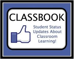 FREEBIE!  Students leave a quick Facebook status at the end of a lesson, chapter, unit, etc. Great to check for comprehension and any lingering questions! Could make this into an entire bulletin board!!