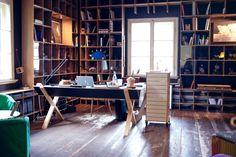 Freunde von Freunden — Nils Holger Moormann — Furniture Designer & Guesthouse Owner, Workplace, Aschau im Chiemgau, Bavaria — http://www.freundevonfreunden.com/workplaces/nils-holger-moormann/