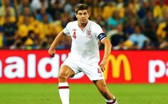 UEFA EURO 2012 : Steven Gerrard, England v Ukraine