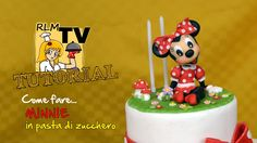 Come fare Minnie 3D in pasta di zucchero