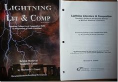 "Review of #LanguageArts course LIghtning Lit British Medieval (Best for Grades 11-12): ""I am impressed with Lightning Literature and Composition as they have sought out pieces of literature that will work best for many students ...I am very thankful for the checklists, grading template and suggestions for the teacher when it comes to grading a student's writing."""