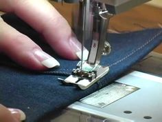 ▶ 11) BERNINA presser feet -- Jeans foot #8 - YouTube