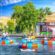 Çarpışan su botlarımız çocuklar ve gençler tarafından yoğun ilgi görüyor. Sizleri de en yakın zamanda su üzerinde bu heyecanı yaşamaya Türkiye'nin En Büyük Parkı'na bekliyoruz. #Yesilvadi #Gaziantep #ÇarpışanBotlar