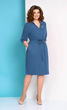 Stylish Work Outfits, Classy Outfits, Beautiful Outfits, Simple Dresses, Casual Dresses, Short Dresses, Women's Fashion Dresses, Dress Outfits, Demin Dress