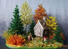 Осенняя сказка | biser.info - всё о бисере и бисерном творчестве