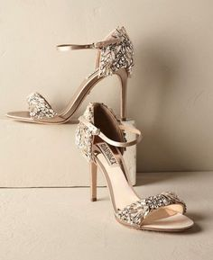 Featured Shoes: BHLDN; Wedding shoes idea.