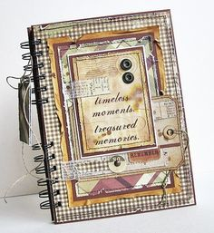 Simple Stories - Traditions journal