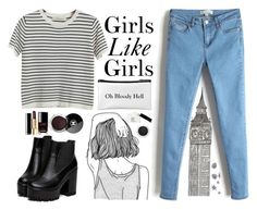 """Girls Like Girls - Hayley Kiyoko"" by ninailia ❤ liked on Polyvore featuring Chicnova Fashion, Chanel, Clarins and Make"