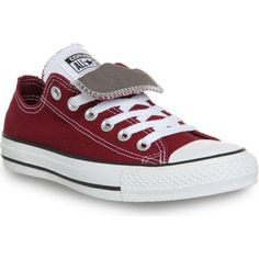 CONVERSE All star double-tongue low-top trainers found on Polyvore