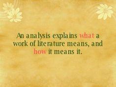 Ap literature thesis statement formula
