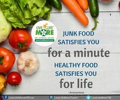 "Junk Food Satisfies You ""For A Minute"" Healthy Food Satisfies You ""For Life"" #JunkFoods #HealthyDiet #HealthyFood #LookBetter #HealthyLifestyle #NutritionDiet #DietConsultation #ChandigarhDiet #DtPallaviJassal #DrSandeepJassal LiveLifeMore Health"