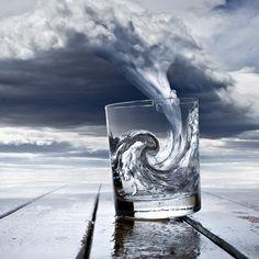 Storm in een glas water