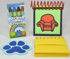Blue's Clues Handy Dandy Notebook with 25 Sticky Clues by AuFoyer, $11.95   My little guy loves  Blues Clues & I am NOT paying $50 for the original Handy Dandy Notebook!!! Ordering this today!