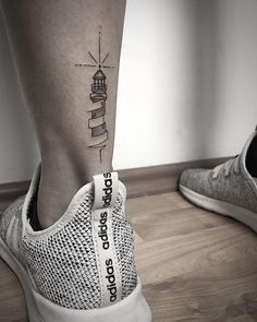 The 13 Secrets That You Shouldn't Know About Lighthouse Tattoo On Ankle Cute Tattoos, Body Art Tattoos, Small Tattoos, Tatoos, Maine Tattoo, Tattoo Familie, Tattoo Bauch, Tattoo Fineline, Simplistic Tattoos