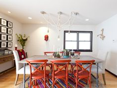 Orange is vibrant, bold and making a comeback in the design world. Here are our favorite new ways to use this hot hue.