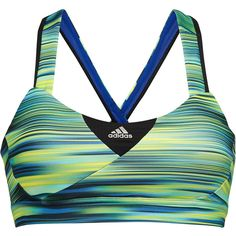 Adidas Supernova illuminated bra top ($38) ❤ liked on Polyvore featuring activewear, tops, workout, shirts, stretch shirt, moisture wicking shirts, adidas sportswear, wicking shirt and adidas activewear