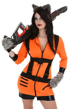 Rocket Raccoon costume - foundation of costume inspiration #cosplay #Rule63