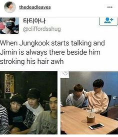I don't ship jikook cause yoonmin is too cute fir the world but that's cute too