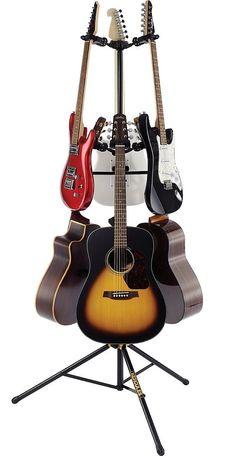 statyw na 6 gitar HERCULES GS526B uniwersalny - sklep RockMetalShop.pl