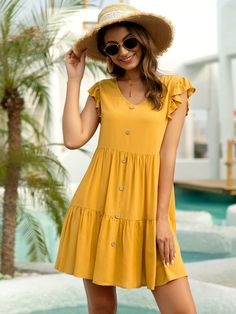 Stylish Dresses, Simple Dresses, Cute Dresses, Casual Dresses, Casual Outfits, Short Sleeve Dresses, Summer Dresses, Baby Dresses, Frock Fashion
