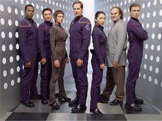 Star Trek Deep Space Nine crew/ cast | Download Enterprise wallpaper, 'Enterprise Crew Wallpaper'.
