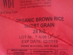 Short Grain Organic Brown Rice 25 kilo collection Newport in Newport. View this and more Catering ads on Wightbay! Newport Isle Of Wight, Organic Brown Rice, Catering Equipment, Equipment For Sale, Grains, Ads, Collection, Seeds, Korn