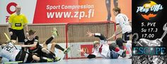 Poster Playoff by Happee Floorball