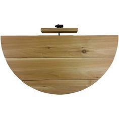 Deck Ldge 1/2 Rnd 28Lx14W