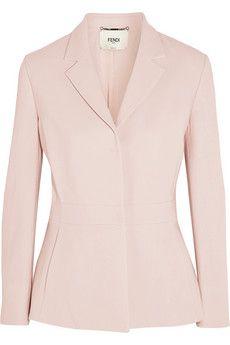 Fendi Stretch-wool blazer | NET-A-PORTER