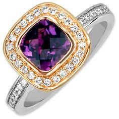 Frederic Sage Amethyst Ring