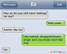 Awww sooo sad I guess I know how it feels when someone you like doesn't like you back:( we all have those days