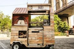 New York City's newest street cart is a wood-fired pizza oven on wheels. See Eater NY for the whole story on Luzzo's.