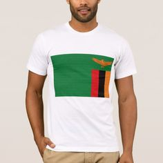 Shop Zambia Flag T-shirt created by Zipperedflags. Zambia Flag, Flag Design, American Apparel, Flags, Shirt Style, Kids Outfits, Shirt Designs, Polo Ralph Lauren, Celebrities