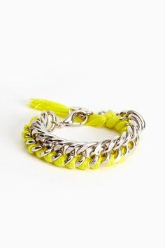 Phosphor Chain Bracelet