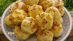 Mini-pagáčiky z kyslej smotany: Nadýchané a mäkučké! Snack Recipes, Cooking Recipes, Snacks, Hungarian Recipes, Hungarian Food, Scones, Ham, Potato Salad, Cauliflower