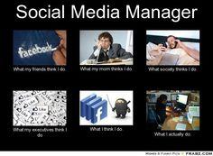 social media manager meme