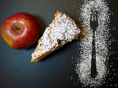 Szarlotka: A Brief History and Recipe for Polish Apple Pie Apple Cake, Confectionery, I Love Food, Deserts, Sweets, Baking, Fruit, Breakfast, Recipes