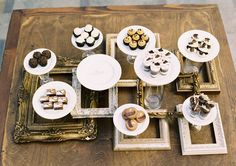 If you love chocolate in all its forms, then this dessert table is for you. Milk, dark, and white chocolate treats are everywhere including . Wedding Desserts, Wedding Decorations, Wedding Ideas, Wedding Wows, Decoration Party, Chic Wedding, Wedding Trends, Wedding Cake, Custom Cupcakes