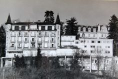 Hotel Bellevue, before becoming Glion Institute of Higher Education, GIHE