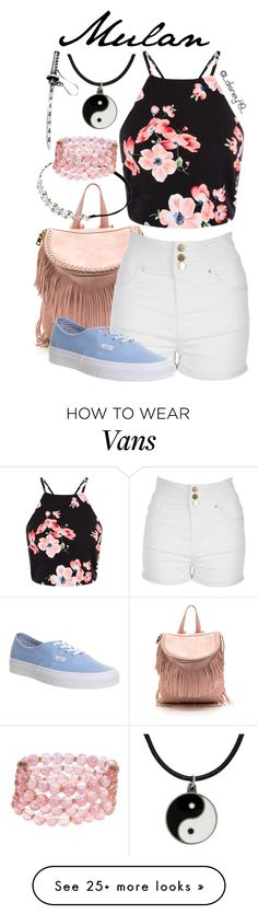 """Mulan"" by disney49 on Polyvore featuring Jane Norman, Carolina Glamour Collection, Vans, Johnny Loves Rosie and Lonna & Lilly"