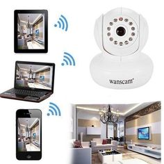 OUKU Wanscam  Wanscam  Wireless Mini Ip Camera with Pan Title and P2P Free (Color:White) http://ift.tt/2w3S9sD