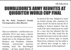New #HarryPotter short story on #Pottermore!!