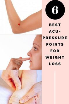 6 Best Acupressure Points For Weight Loss