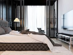 Bedroom Interior Design Ideas (718)   https://www.snowbedding.com/