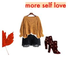 """""""Fall outfit"""" by achoa-koolen on Polyvore featuring mode, Herz, Chicwish en Aquazzura"""