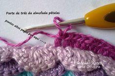 Tecendo Artes em Crochet: Projetos (almofada)